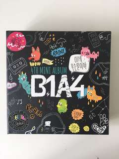 "B1A4 ""what's going on"" album + free notebook and stickers"