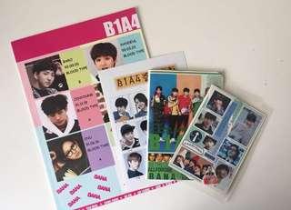 Free B1A4 merchandises
