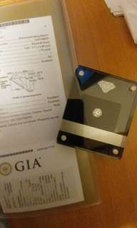 GIA 1.75 I SI2 3Ex None 全新裸鑽