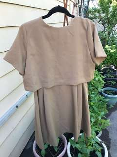 NWT OAK AND FORT NUDE DRESS