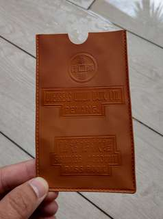 Vintage OUB pass book sleeve