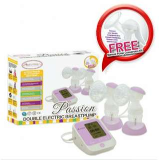 Autumnz - PASSION Convertible Double Electric / Manual Breastpump