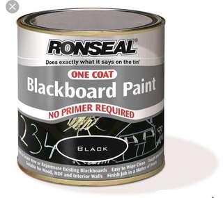 ronseal blackboard paint