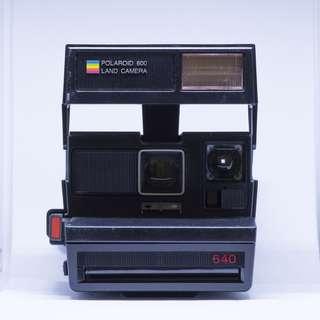 #winsb Vintage Polaroid 640 Land Camera / 640 Sun Camera