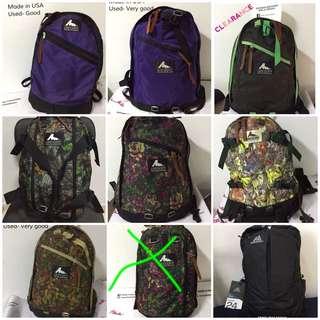Backpack gregory