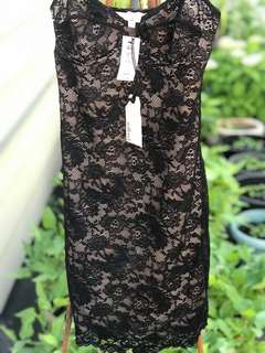 NWT WILFRED LACE DRESS