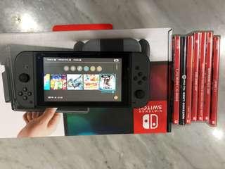 Nintendo swith +game+labo robokit
