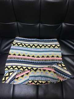全新民族風&粉紅花skirt半截裙