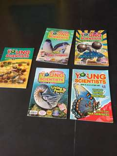 🚚 Young scientists magazines level 3