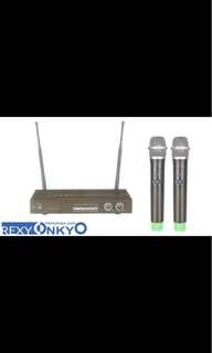 Rexy Onkyo UHF Wireless Microphone