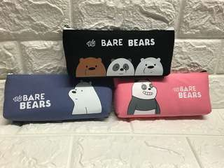 We bare bear pencil cases