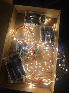 5pc x 5M Copper Wire Fairy Lights (Warm Light)