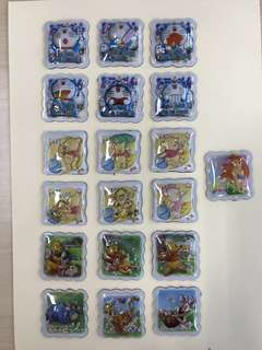 3D Pop-up Magnets