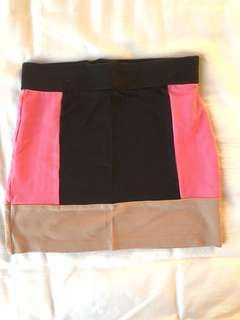 High waisted bodycon skirt size 4
