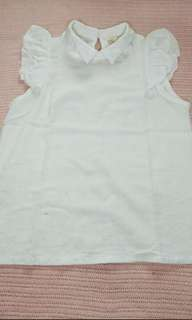 White top* FREE ONG