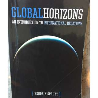 Global Horizons: An Introduction to International Relations.  Hendrik Spruyt