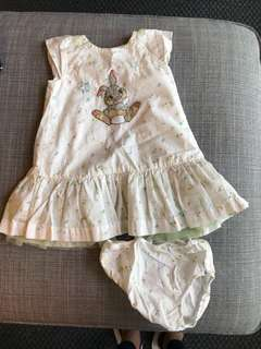 Disney dress 12-18 months