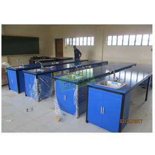 12pcs 200x90 TRAINING TABLES GLOSSY BLUE--KHOMI
