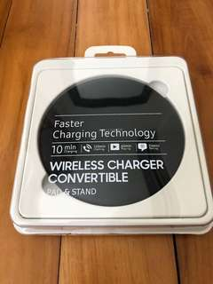 Wireless Charger Convertible pad and stand