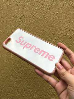 Supreme mirror case for iPhone 6/6s