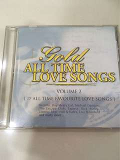 "Gold ""all time love songs"""
