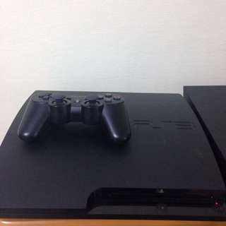 PS3 Console CECH-3006A with 7 Games