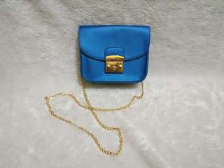 Blue bags looklike furla