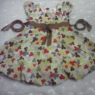Dress girl 4-5 years