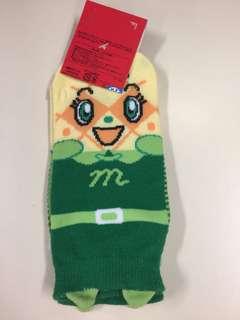 麵包超人 蜜瓜包 襪