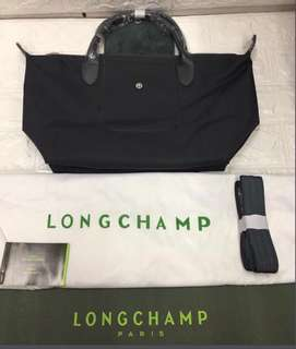 Longchamp NEO Strap Bag (Black)