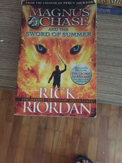 Rick Riordan- Magnus Chase