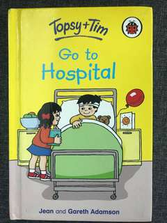 Topsy and Tim Go to Hospital Ladybird book