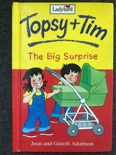 Topsy and Tim Ladybird book A Big Surprise