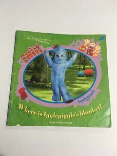In the Night Garden Where is Igglepiggle's blanket? book