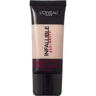 🚚 [BN] L'Oreal Infallible Pro-Matte Shade 107