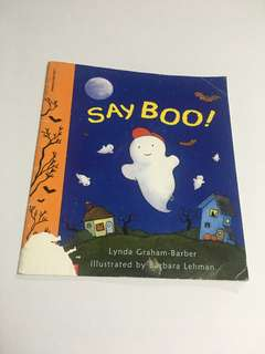 Say Boo! book