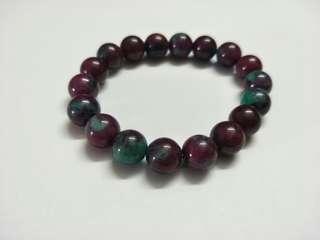 紫青水晶手链 Real Purple Green Crystal Bracelet