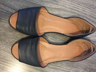 Urban outfitters leather flats