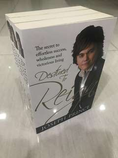 (BRAND NEW) Joseph Prince Destined To Reign