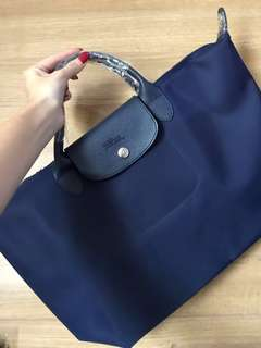 Longchamp NEO Strap Bag (Navy)