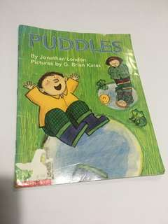 Puddles book
