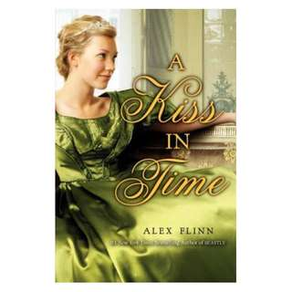 E-book English Novel - A Kiss in Time by Alex Flinn
