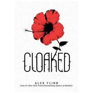 E-book English Novel - Cloaked by Alex Flinn