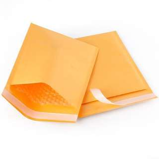 Padded Kraft Bubble Envelope
