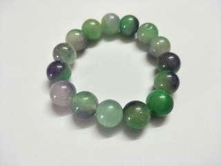 青蓝水晶手链 Real Green and Blue Crystal Bracelet