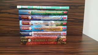 6 Geronimo Stilton books + 1 free x- venture comic