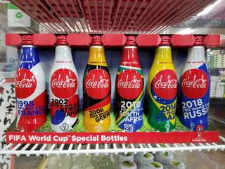Coca Cola - FIFA World Cup Special Bottles ( 鋁罐)
