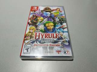 Hyrule Warriors Definite Edition Nintendo Switch Game (New)