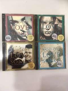 Radio City Love Songs CD set