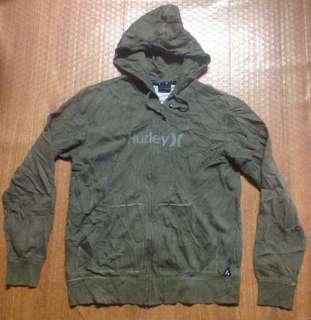 Hurley Full Zip Hoodie Jacket Authentic